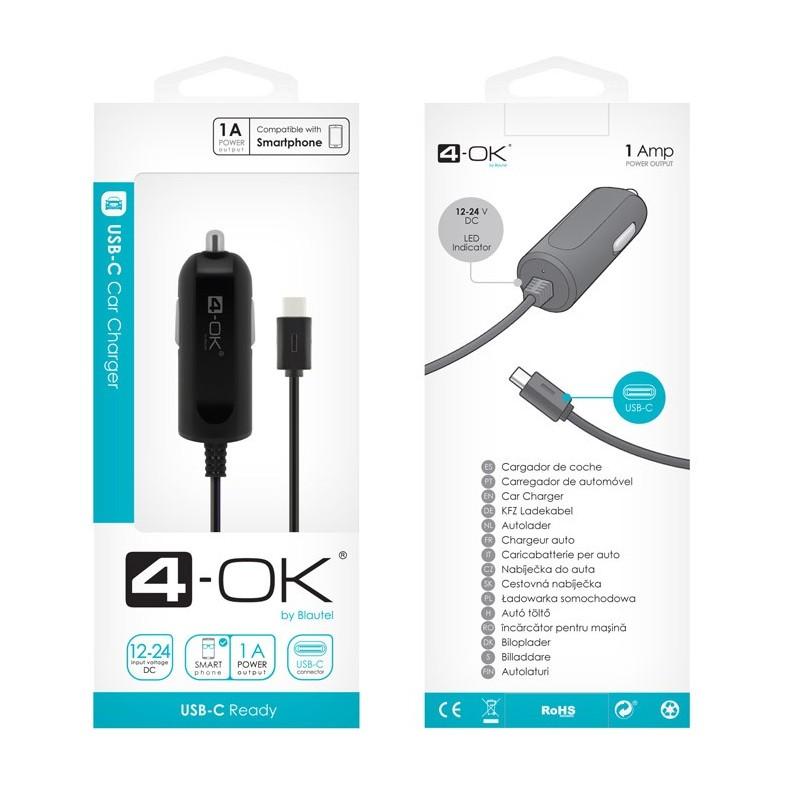 CL AUTONABÍJEČKA 4-OK USB-C 1A POWER