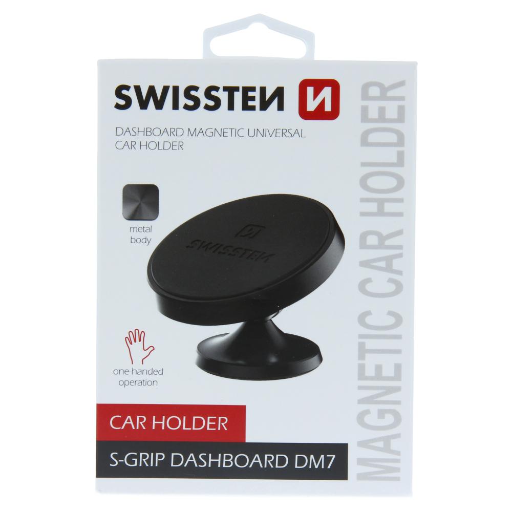 MAGNETICKÝ DRŽÁK DO AUTA SWISSTEN S-GRIP DASHBOARD DM7