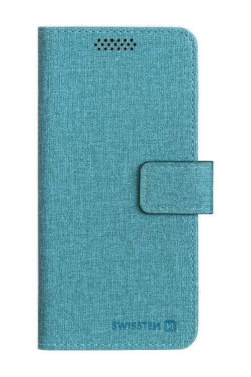 POUZDRO SWISSTEN LIBRO UNI BOOK XXL TYRKYSOVÉ (170 x 83 mm)