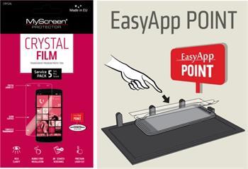 EASY APP POINT SERVIS PACK 5 ks OCHRANNÝCH FÓLIÍ NA DISPLEJ MYSCREEN CRYSTAL SAMSUNG G900 GALAXY S5