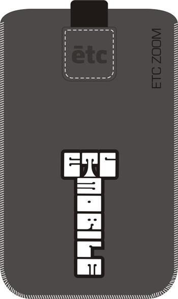 POUZDRO ETC ZOOM vzor 412 SAMSUNG A300F GALAXY A3, SONY XPERIA Z3 COMPACT/Z5 COMPACT, LENOVO A2010