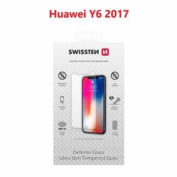 OCHRANNÉ TEMPEROVANÉ SKLO SWISSTEN HUAWEI Y6 2017 RE 2,5D