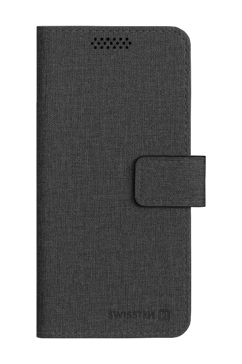 POUZDRO SWISSTEN LIBRO UNI BOOK L ČERNÉ (148 x 71 mm)